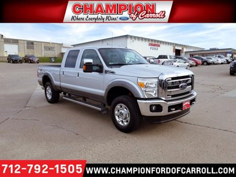 2012 Ford F-250 Super Duty for sale in Carroll, IA