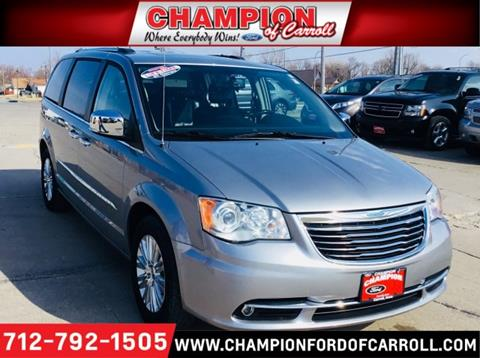 2015 chrysler town and country for sale in iowa for Mike molstead motors charles city iowa