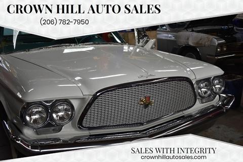 1960 Chrysler Windsor for sale in Seattle, WA