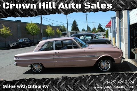 Excellent 1963 Ford Falcon For Sale In Seattle Wa Ibusinesslaw Wood Chair Design Ideas Ibusinesslaworg