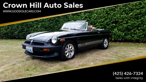 1980 MG MGB for sale in Seattle, WA