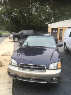 2003 Subaru Outback for sale in Emmaus, PA
