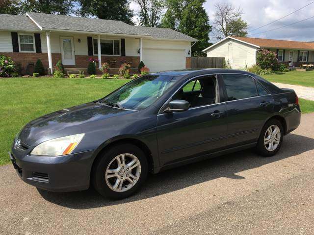 2006 Honda Accord Sedan >> 2006 Honda Accord Lx Special Edition 4dr Sedan 5a In North