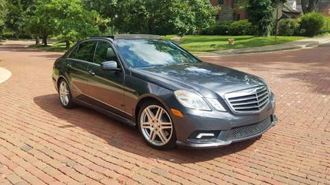 2010 Mercedes-Benz E-Class for sale at Five Star Auto Group in North Canton OH