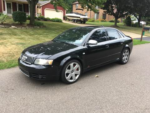 2004 Audi S4 for sale at Five Star Auto Group in North Canton OH