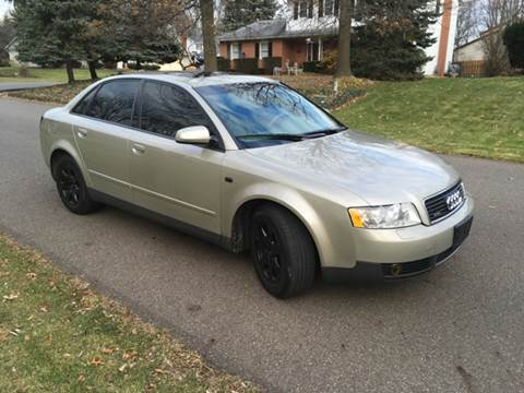 2002 Audi A4 for sale at Five Star Auto Group in North Canton OH