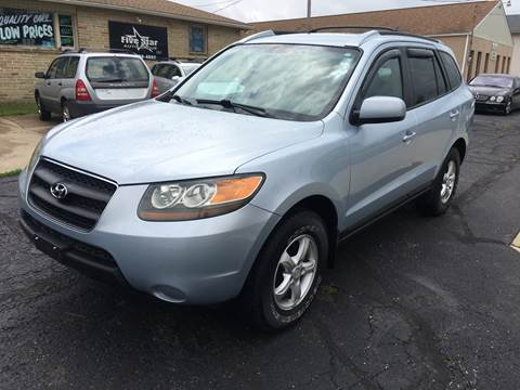 2007 Hyundai Santa Fe for sale at Five Star Auto Group in North Canton OH