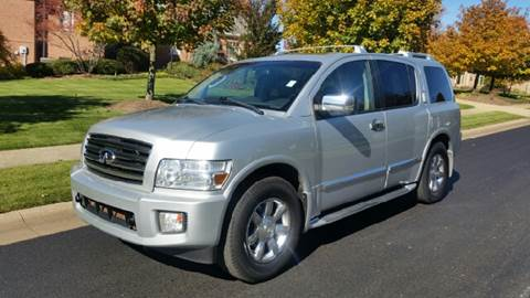 2004 Infiniti QX56 for sale at Five Star Auto Group in North Canton OH