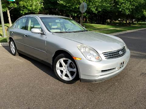2004 Infiniti G35 for sale at Five Star Auto Group in North Canton OH