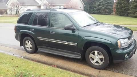 2002 Chevrolet TrailBlazer for sale at Five Star Auto Group in North Canton OH