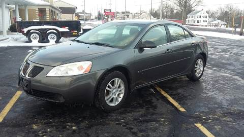 2006 Pontiac G6 for sale at Five Star Auto Group in North Canton OH