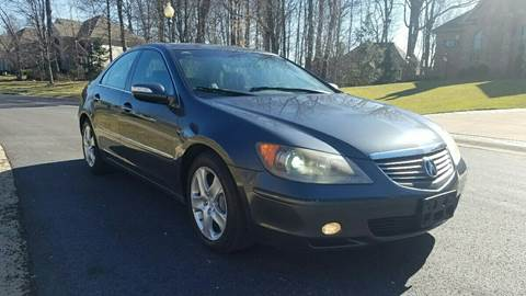 2006 Acura RL for sale at Five Star Auto Group in North Canton OH