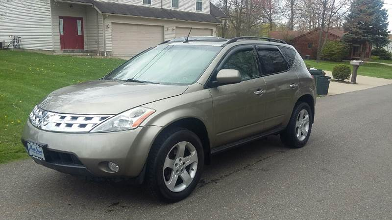 2004 nissan murano awd sl 4dr suv in north canton oh five star auto group. Black Bedroom Furniture Sets. Home Design Ideas