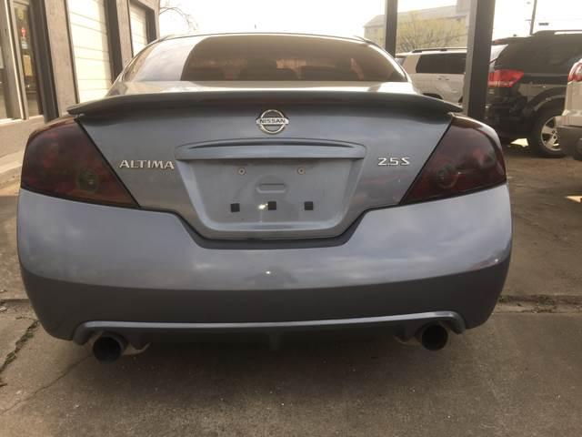 2012 Nissan Altima 2.5 S 2dr Coupe CVT - Fayetteville AR