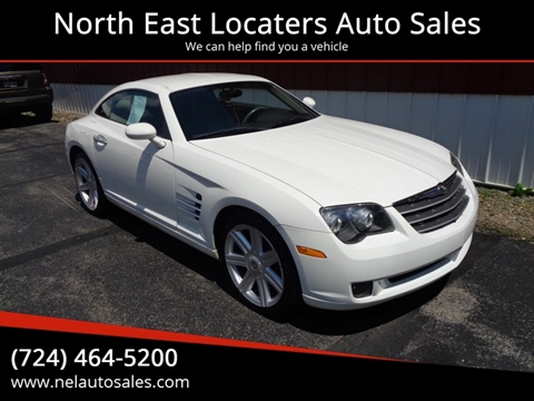 Indiana Pa Car Dealerships >> Chrysler Crossfire For Sale In Indiana Pa North East