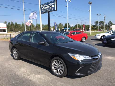 2015 Toyota Camry for sale in Florence, SC