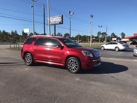 2012 GMC Acadia for sale in Florence, SC