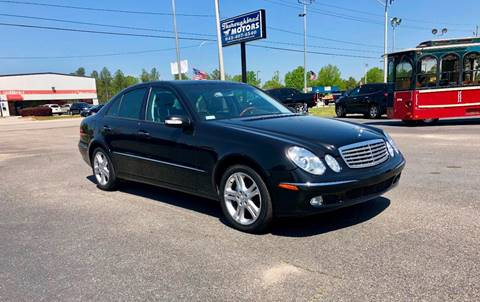 Used mercedes benz e class for sale in florence sc for Thoroughbred motors florence sc