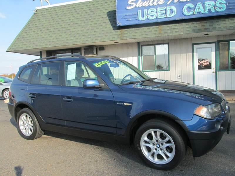 2004 Bmw X3 AWD 25i 4dr SUV In CRYSTAL LAKE IL  SHULTS AUTO