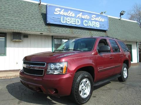 2008 Chevrolet Tahoe for sale at SHULTS AUTO SALES INC. in Crystal Lake IL