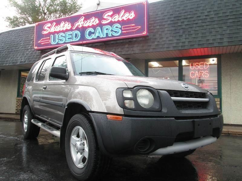 2004 Nissan Xterra for sale at SHULTS AUTO SALES INC. in Crystal Lake IL
