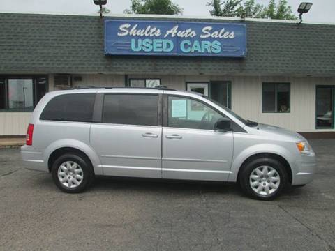 2010 Chrysler Town and Country for sale at SHULTS AUTO SALES INC. in Crystal Lake IL