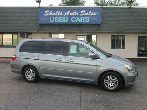 2006 Honda Odyssey for sale at SHULTS AUTO SALES INC. in Crystal Lake IL