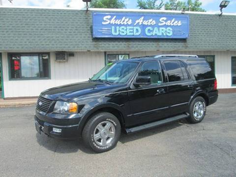 2006 Ford Expedition for sale at SHULTS AUTO SALES INC. in Crystal Lake IL