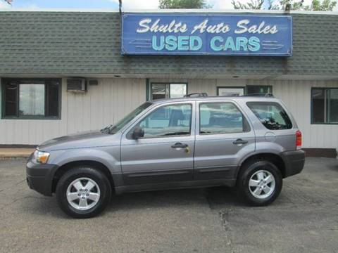 2007 Ford Escape for sale at SHULTS AUTO SALES INC. in Crystal Lake IL