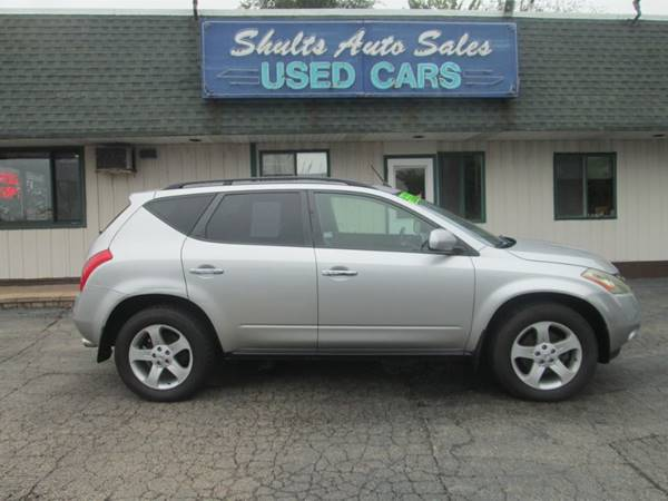 2004 Nissan Murano In Crystal Lake Il Shults Auto Sales Inc