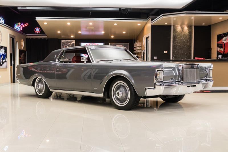 1969 Lincoln Continental 8