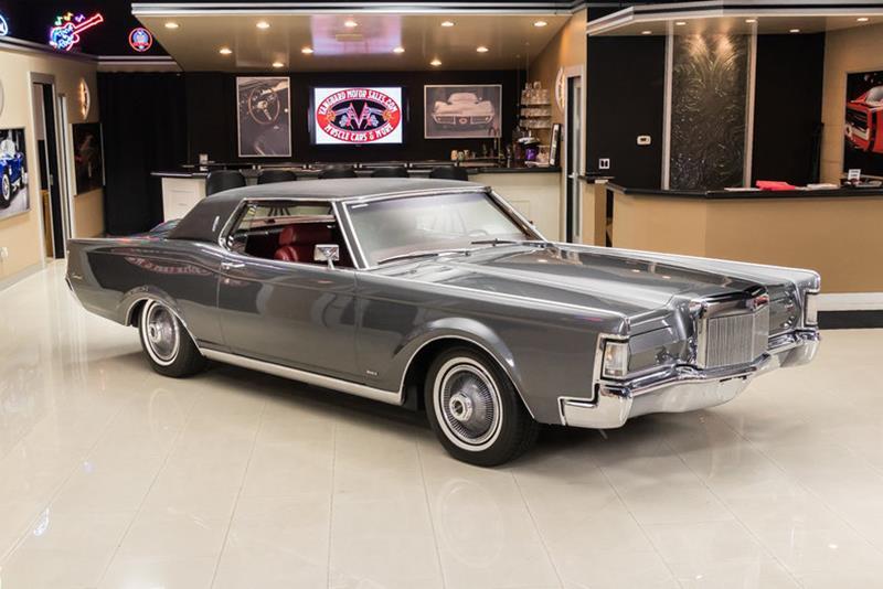 1969 Lincoln Continental 9