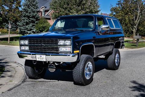Used 1991 Chevrolet Blazer For Sale In Yukon Ok Carsforsale