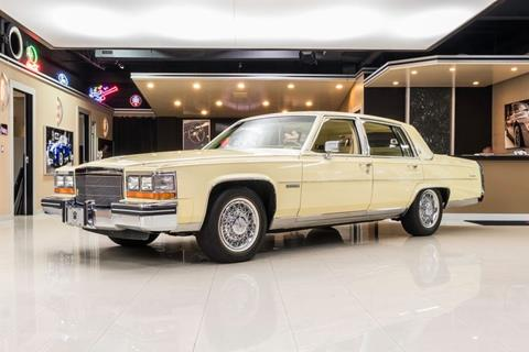 1982 Cadillac Fleetwood Brougham for sale in Plymouth, MI