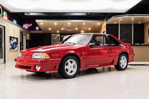 91 Mustang Gt >> 1991 Ford Mustang For Sale In Plymouth Mi