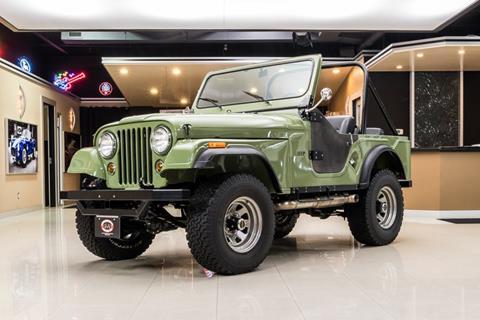 1975 Jeep CJ-5 for sale in Plymouth, MI