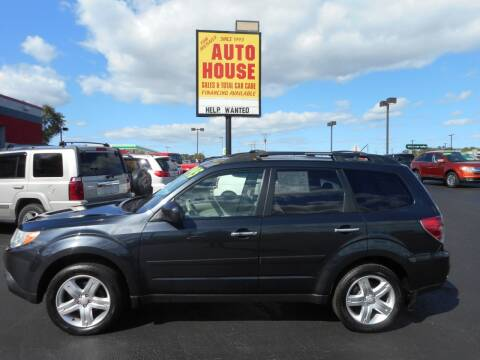 2009 Subaru Forester for sale at AUTO HOUSE WAUKESHA in Waukesha WI