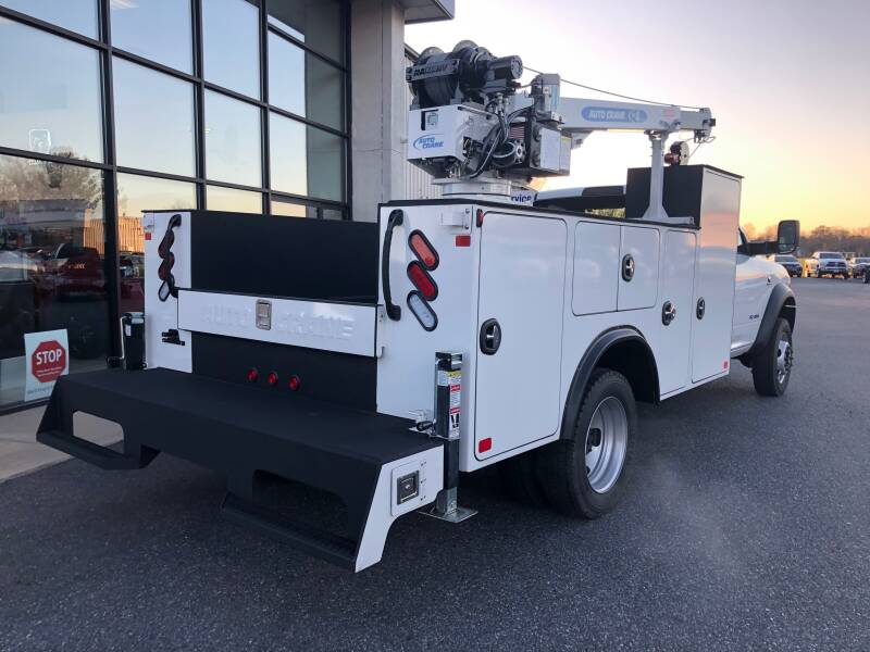 2019 RAM Ram Chassis 5500 4X4 2dr Regular Cab 168.5 in. WB - Easton MD