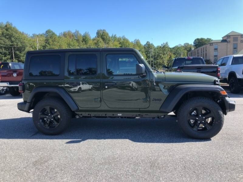 2021 Jeep Wrangler Unlimited UNLIMITED ALTITUDE 4X4 - Easton MD