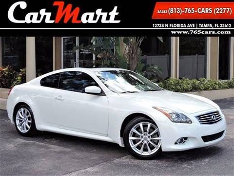 2011 Infiniti G37 Coupe for sale in Tampa, FL