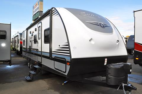 2018 Forest River Surveyor 295QBLE for sale at Baydo's RV Center in Fife WA