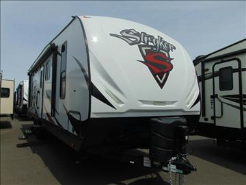 2017 Heartland RV Stryker ST2912 for sale at Baydo's RV Center in Fife WA