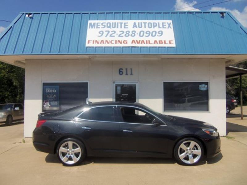 2014 Chevrolet Malibu For Sale At MESQUITE AUTOPLEX In Mesquite TX