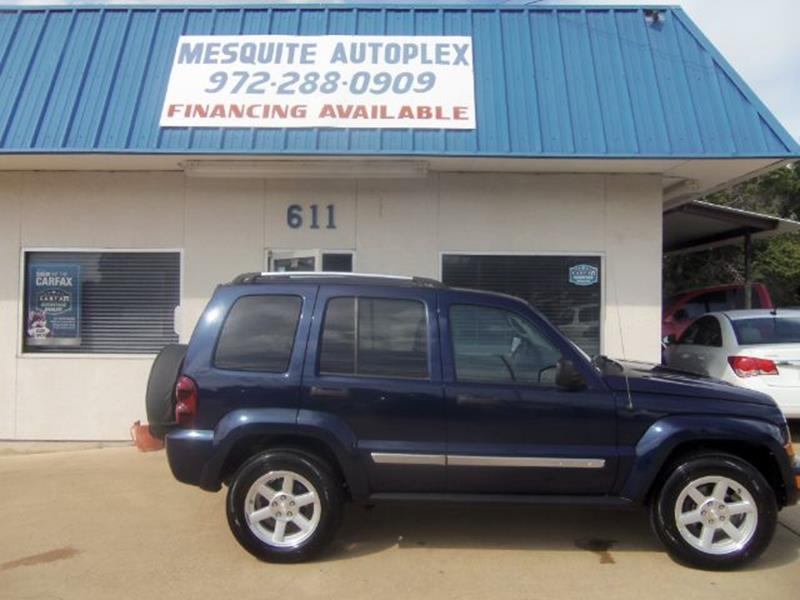 2007 Jeep Liberty For Sale At MESQUITE AUTOPLEX In Mesquite TX