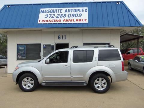 2011 Nissan Pathfinder for sale at MESQUITE AUTOPLEX in Mesquite TX