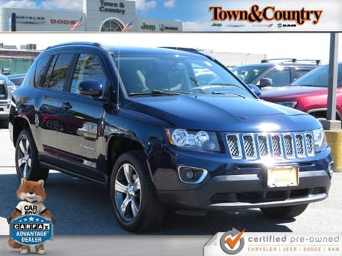 2016 Jeep Compass for sale in Levittown, NY