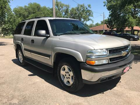 2004 Chevrolet Tahoe for sale at Auto Quality Sale & Svc in Columbus NE