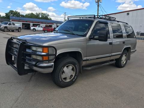 1999 Chevrolet Tahoe for sale at Auto Quality Sale & Svc in Columbus NE