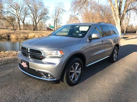 2015 Dodge Durango for sale at Auto Quality Sale & Svc in Columbus NE