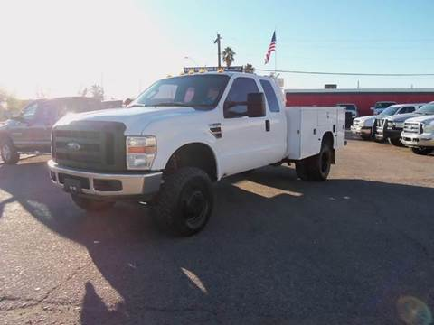 2008 Ford F350 4X4 for sale at Advantage Motorsports Plus in Phoenix AZ